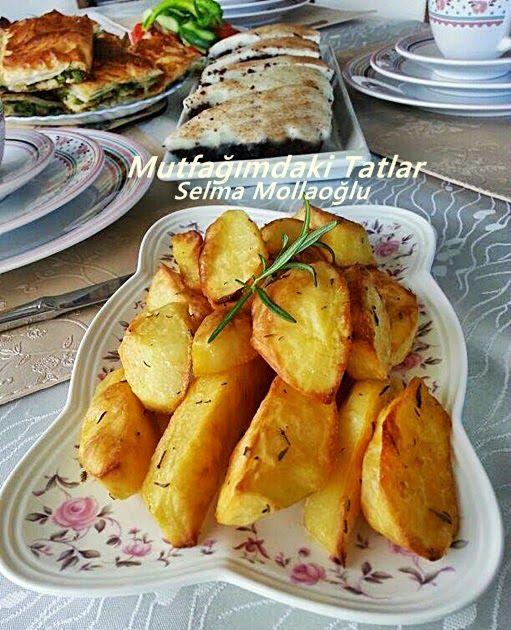 FIRINDA ELMA DİLİM PATATES | Mutfak Ve Tatlar