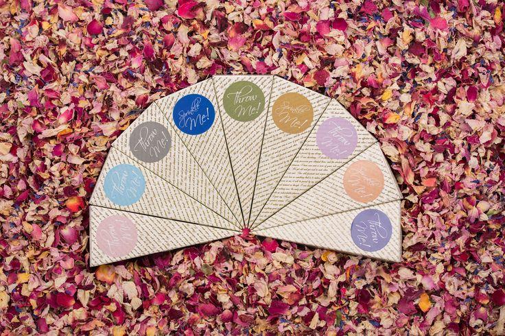 Love Letter Romantic Words Books Literary Wedding Confetti Favour Cones