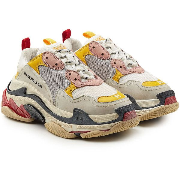 Triple S Sneakers with Suede Balenciaga