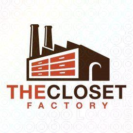 Exclusive Customizable Logo For Sale: The Closet Factory   StockLogos.com https://stocklogos.com/logo/closet-factory