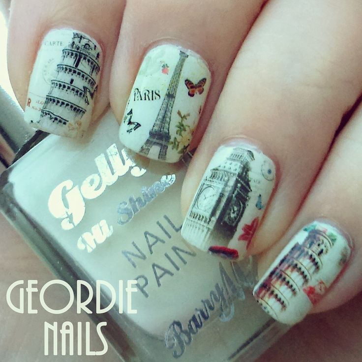 103 best Nail Sticker Decals images on Pinterest | Ongles, Pegatinas ...