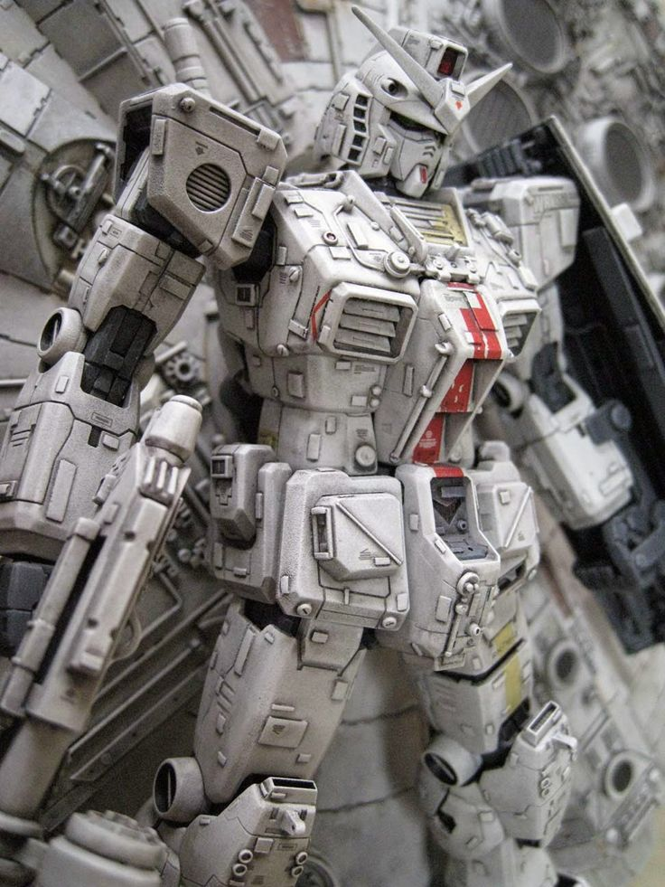 """自定義生成:MG 1/100 RX-78-2敢達OYW""""星球大戰風格"""" - 高達套件收集新聞和評論"""