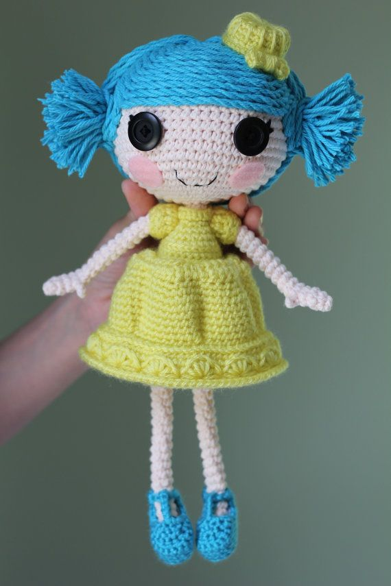 PATTERN Lalaloopsy Jelly Wiggle Jiggle Crochet by epickawaii, $3.99
