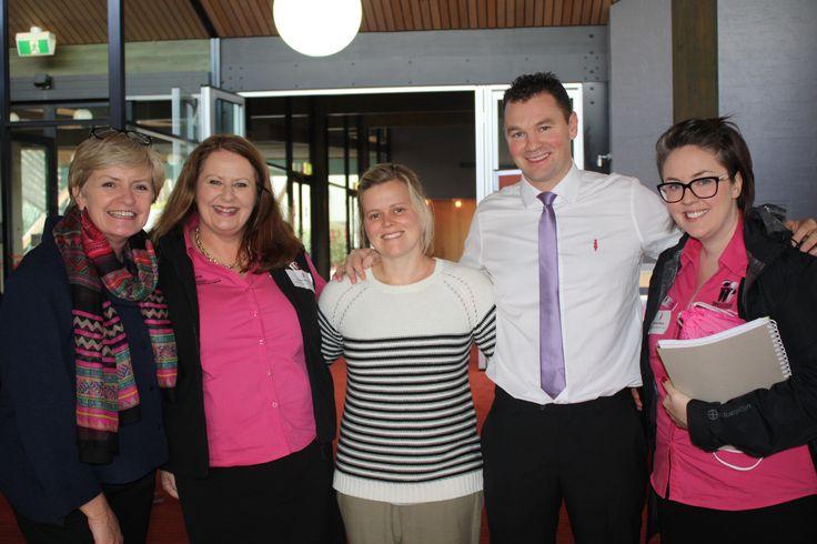 BCNA Geelong Forum | Maxine Morand, MD Road Warrior Matt Daniels & his support crew