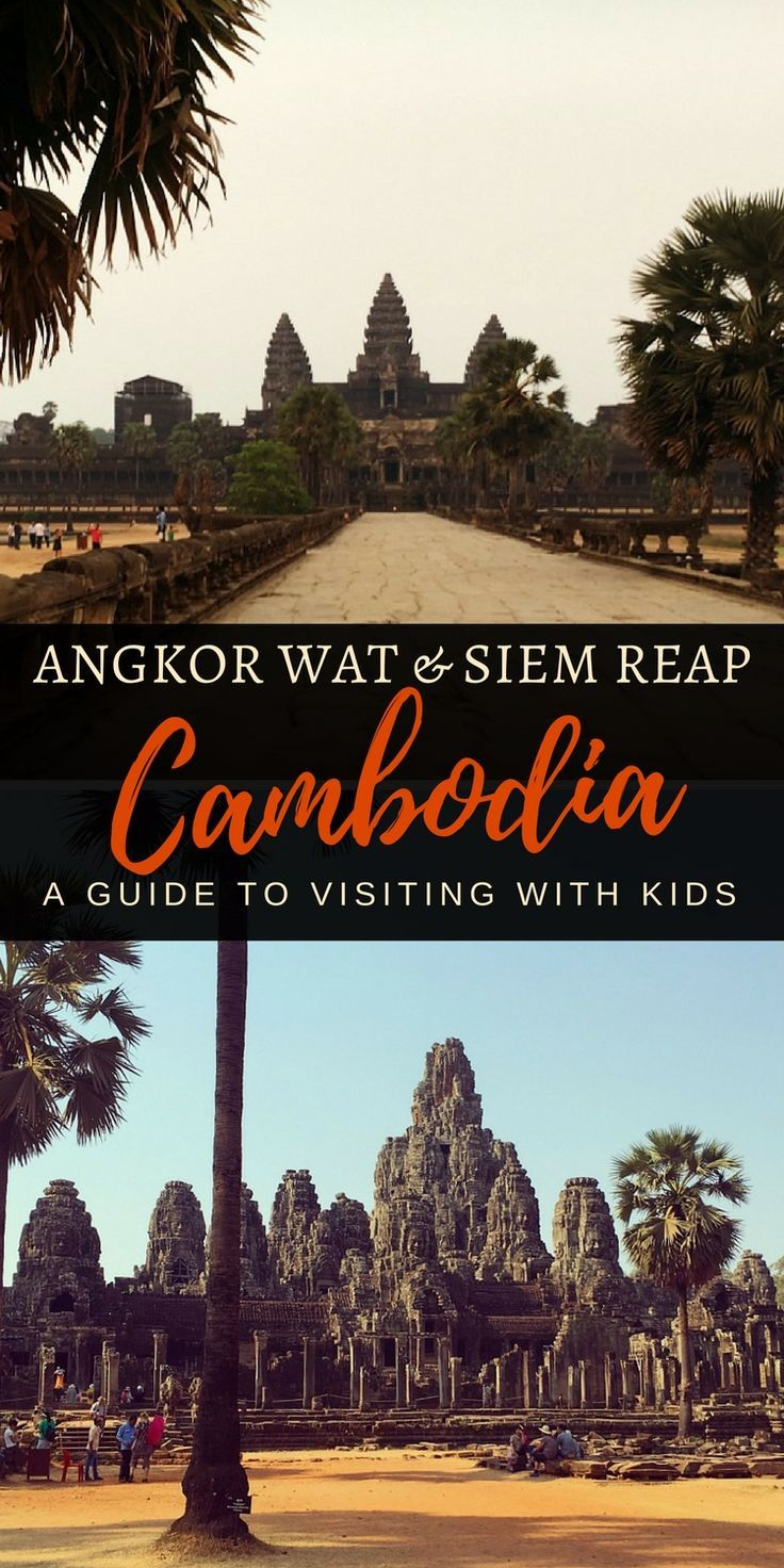 How to tackle the historic Angkor Temples and Siem Reap when travelling with young children | Our Globetrotters - Adventurous Family Travel Blog #siemreap #cambodia #familytravel #southeastasia