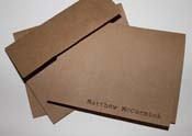 Personalized Men Stationery - Stocking Stuffers for Men - FantabulouslyFrugal.com 2012 Holiday Gift Guide -