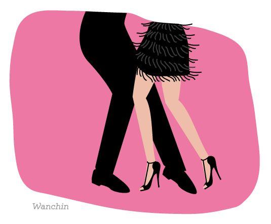 Illustration- danse, salsa, tango by #Wan-Chin Lin