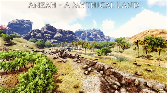 Steam Workshop :: Anzah   A Mythical Land.