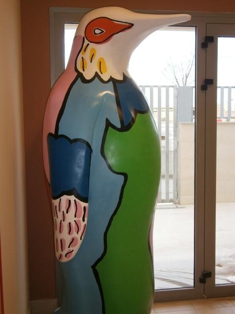 El pingüino de Cristóbal Gabarrón en la Casa