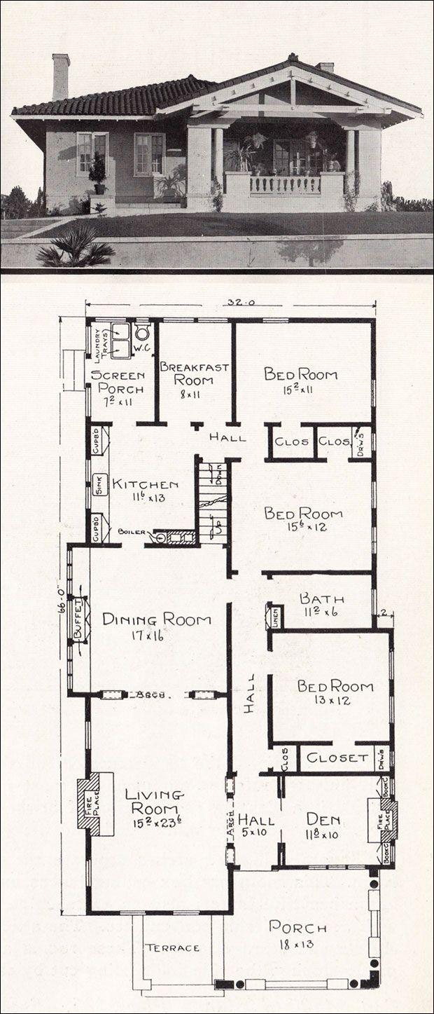 Best 25 Bungalow Floor Plans Ideas On Pinterest House