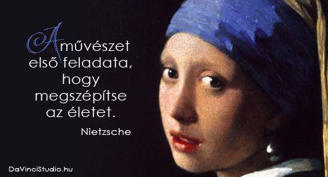Idézetek a művészetről Nietzsche