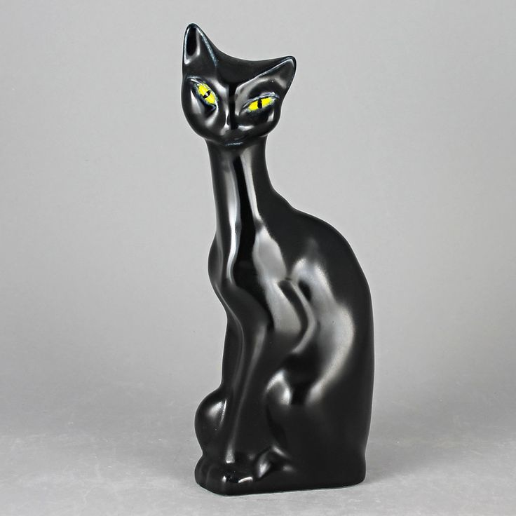Lillemor Mannerheim (1950s) Enigmatic Black Cat