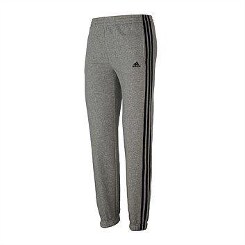 Rebel Sport - adidas Boys 3 Stripe Fleece Pant