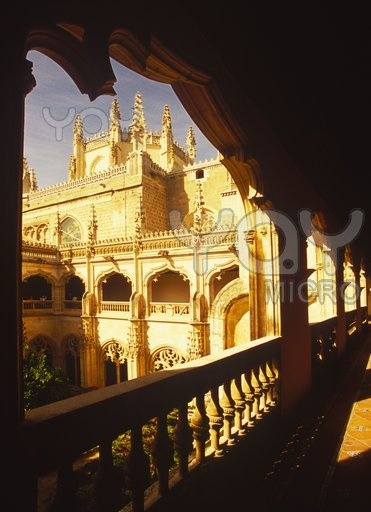 SPAIN: Toledo. Gorgeous walled city, once the capital of Spain. Home to El Greco. (Photo: Cathedral in Toledo.)