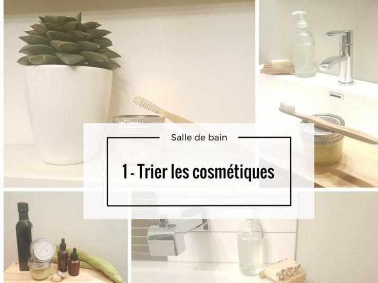 Plusieurs images de salle de bain zéro déchet