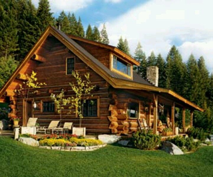 1000+ Images About Log Homes & Log Cabins On Pinterest
