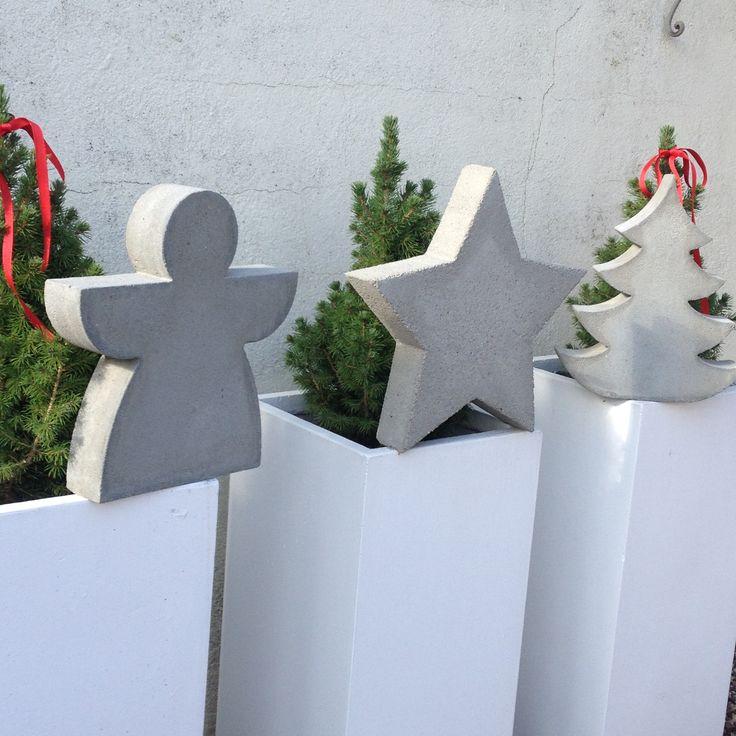 Beton weihnachten diy beton pinterest - Pinterest beton ...