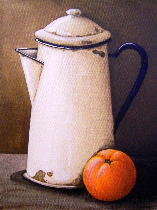 Katie Grobler - Caramic Jug (200 x 300) (SOLD)