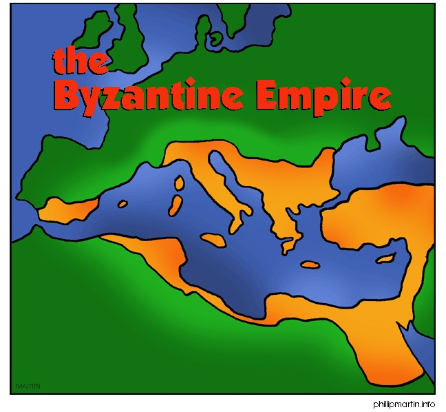 The Byzantine Empire spread to many places.  This was in places like northern Egypt, Greece, Italy, Albania, Bulgaria, Syria, Lebanon, and Turkey.