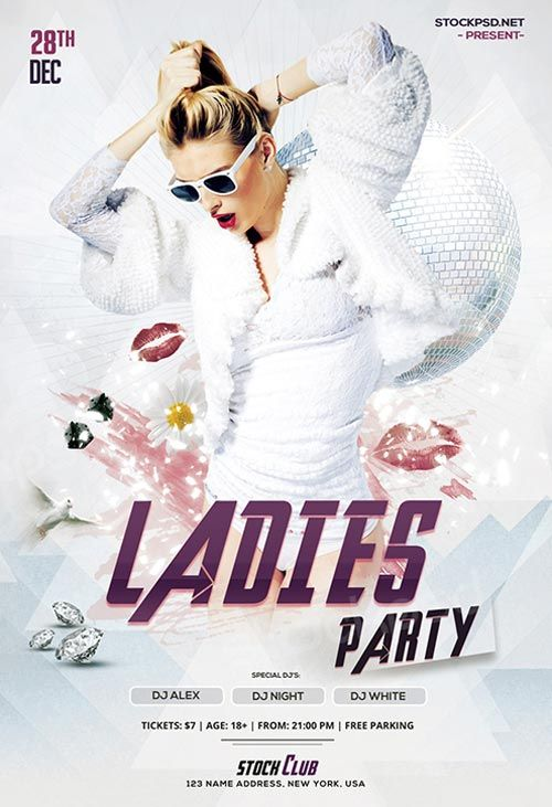 2405 best free psd flyer templates images on pinterest anniversary ladies night party free flyer template httpfreepsdflyerladies saigontimesfo