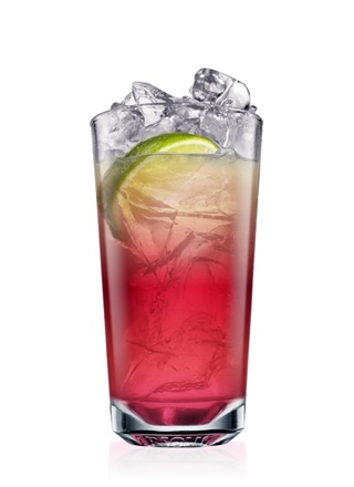 ABSOLUT BERRI BREEZE Cocktail Recipe  Ingredients    1 Part ABSOLUT BERRI AÇAÍ vodka  2 Parts Cranberry Juice  1 Part Apple Juice  1 Wedge Lime