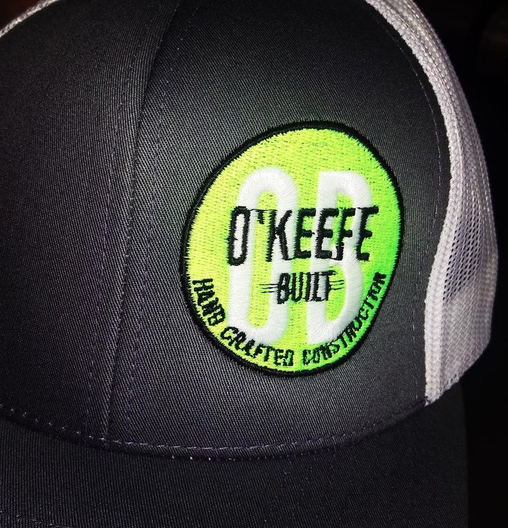 Loved doing these custom hats for OKEEFE Built  #skazma #embroidery #hats #floyellow #marketing #branding #longmont #like #comment #follow
