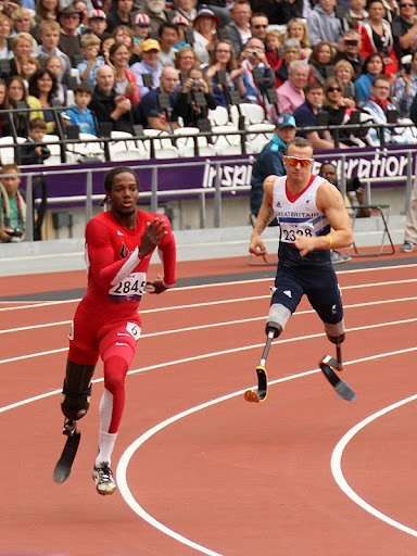 Mens 200m Final #paralympics 2012 #Team GB #Team USA