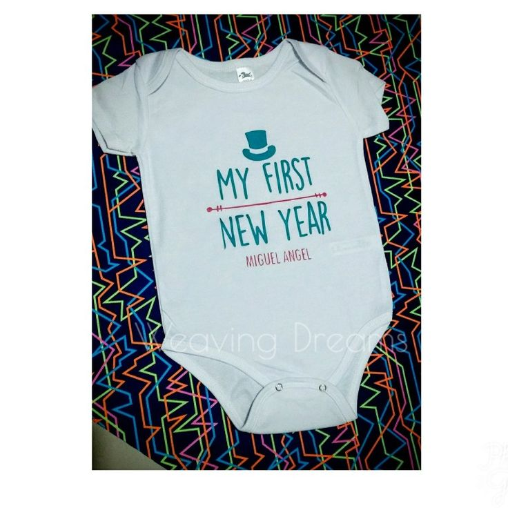 Body para bebé, mi primer año nuevo 🤗 Envíos a nivel nacional 📦 WhatsApp 📲 3043370188