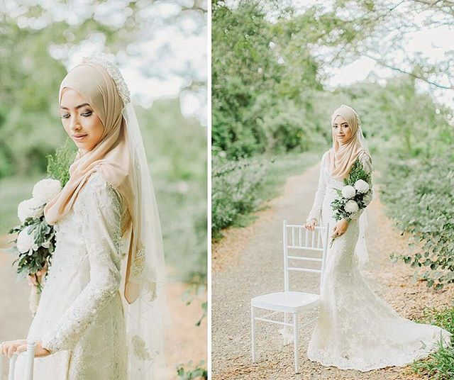Elegant bride in beautiful garden settings -> LOVE ♥♥♥ Wonderfully captured by the brilliant @amirsyaifudin from Malaysia . . . #muslimwedding #muslimweddings #muslimweddingideas #islamicwedding #nikah #nikkah #nikaah  #hijab #hijabfashion #hijabbride #hijabibride #hijabibrides #hijabbrides #hijabbeauty  #muslimbride #muslim #muslimweddingdress #weddingdress #muslimbridal #muslimbrides #modestbride #weddinghijab #bridalhijab #themodestbride #weddinghijabstyle  #hijabwedding