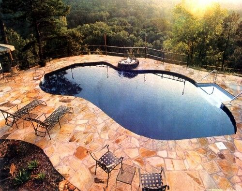 inground swimming pools images | Inground Swimming Pools with Various Styles and Preferences