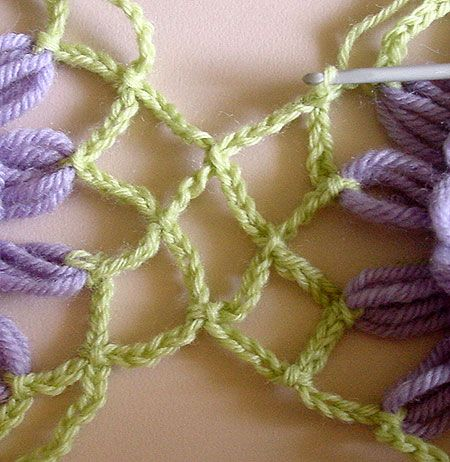 Flower Looms: The Lace Crochet Join