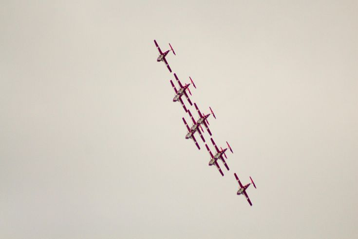 Canada Day Flypast 2017 Snowbirds