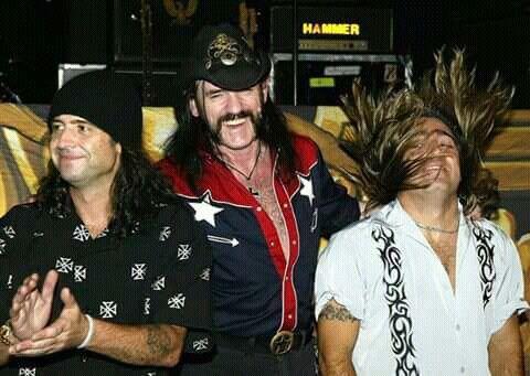 Phil Campbell/Lemmy Kilmister/Mickey Dee
