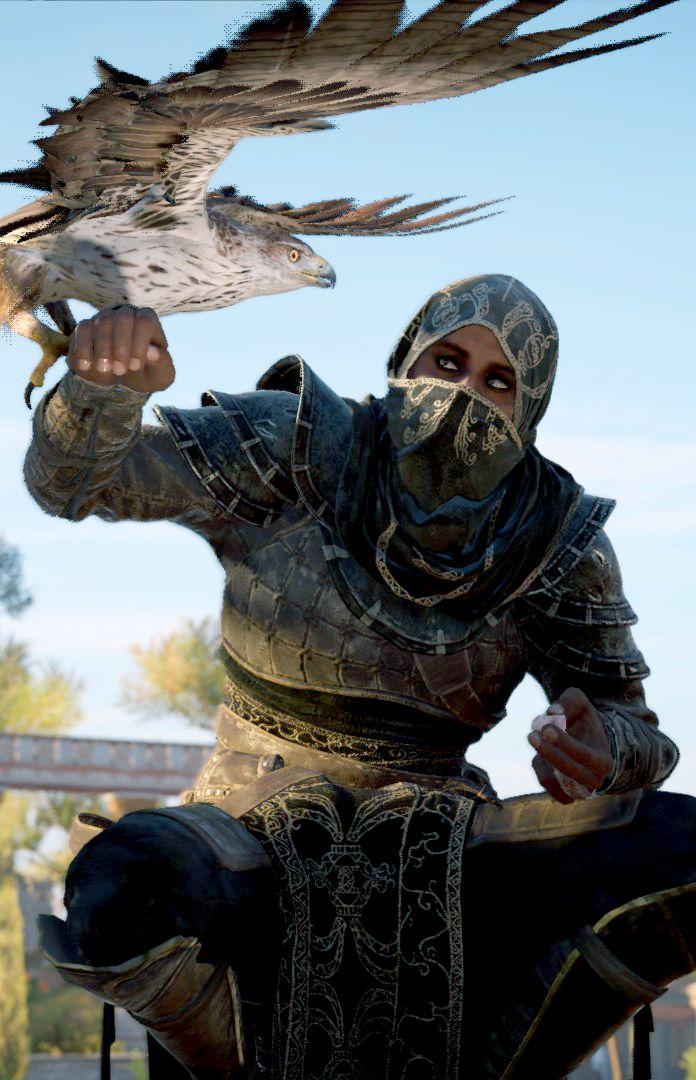 Assassin S Creed Origins Bayek Of Siwa Senu Assassins Creed