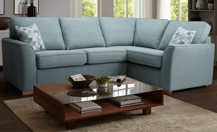 Add warm and homely feel to your #living room with this Clive L Shape #Sofa. It is not only #versatile in nature but also provides a great seating for entertaining your family and friends.