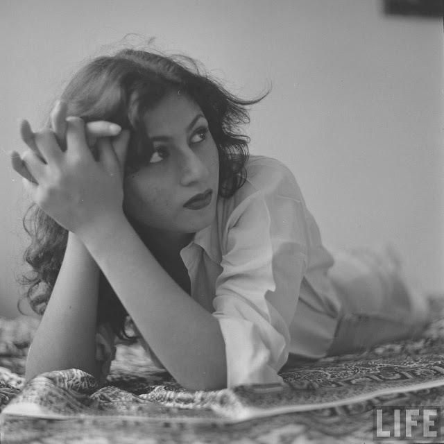 Madhubala, Indian film star from the 1950s