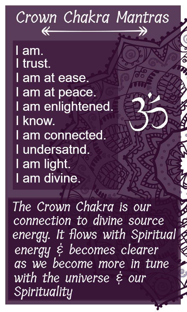 Crown Chakra; The Spiritual Chakra »