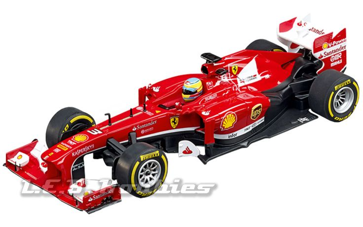 Carrera 30695 Digital 132 Ferrari F138 Fernando Alonso, No.3