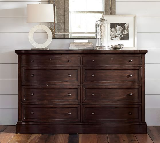 Banks Extra-Wide Dresser | Pottery Barn