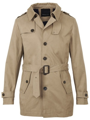 Broadway trench coat