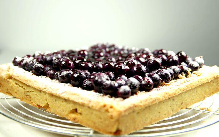 Tarte aux myrtilles (recette de Eric Kayser) - Blueberry tart (Famous french baker Eric Kayser Recipe)