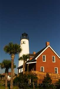 St. George Island Lighthouse in Florida