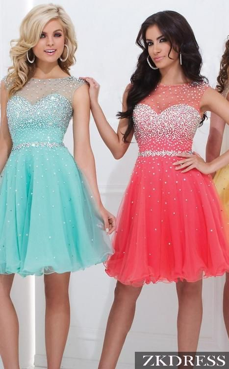 Homecoming Dress Homecoming Dresses // FROZEN. (want)