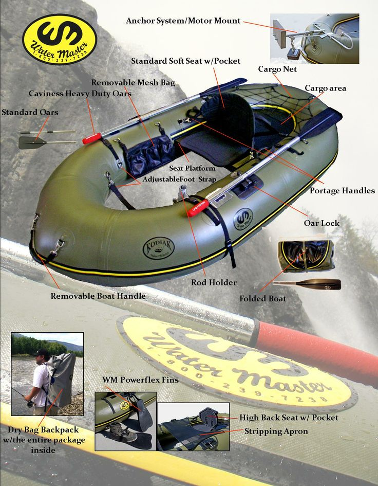 67 best inflatable boat gadgets images on pinterest fishing water master inflatable rafts and boats for fly fishing fishing and hunting are lightweight and compact ccuart Choice Image