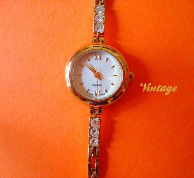 "VTG Bracciale orologio ""Japan MovT"" di Nina Vintage su DaWanda.com"
