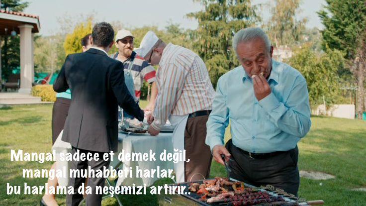 Latif Keklik mangal başında kalp krizi geçirir..