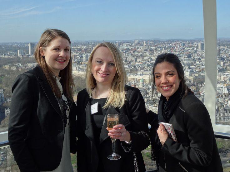 On the Coca-Cola London Eye
