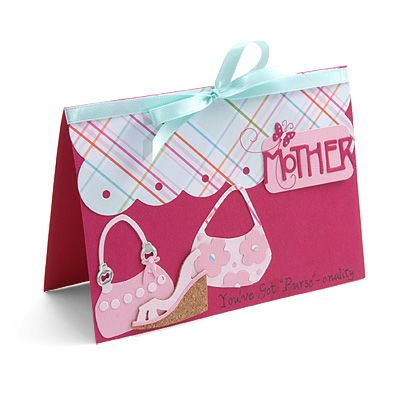 Mother's Day Card: Cards Ideas, Crafts Ideas, Preschool Projects, Preschool Crafts, Mothers Day Cards, Mothers Day Crafts, Cards Crafts, Purses Cards, Card Crafts