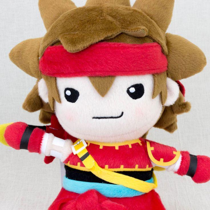 "Dragon Quest X Zankrone 11"" Plush Doll Square Enix JAPAN WARRIOR GAME #SquareEnix"