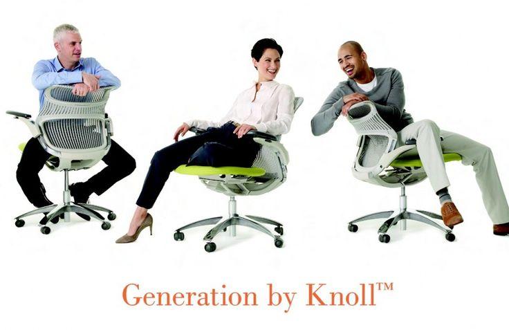 EVENTI: SCILLUFO PRESENTA GENERATION DI KNOLL®, La Nuova Generazione di Sedute per Ufficio.